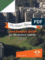 Pre Arrival Guide 2017(Final)