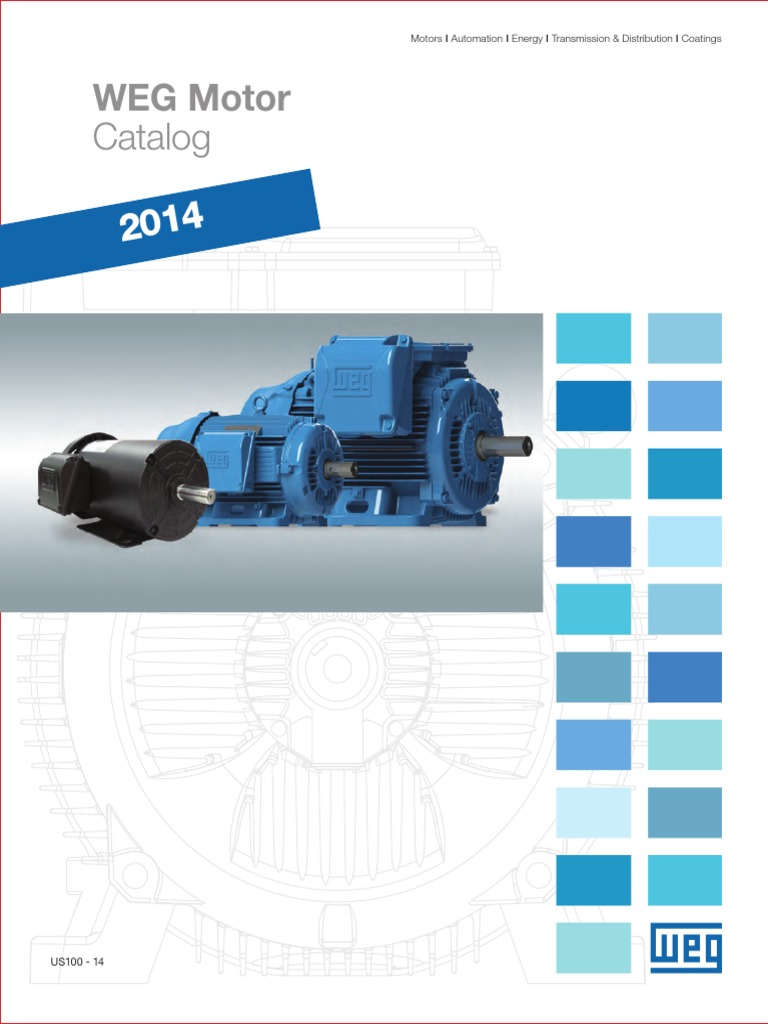 WEG 2014 Weg Motor Catalog Complete Us100 Brochure English ...