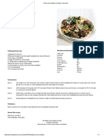 Pasta and Meatballs _ Healthy Food Guide