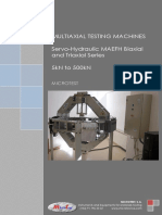 MAEFH Multi Axial Testing Machines MICROTEST