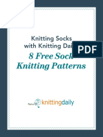 8 FREE Sock Patterns From Knitting Daily