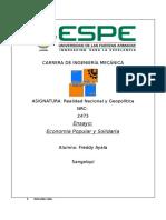 Economía Popular Y Solidaria (ENSAYO).docx