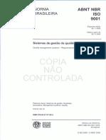 NBR ISO 9001 - 2008 - Gestão da Qualidade - Requisitos.pdf