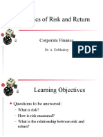 The Basics of Risk and Return
