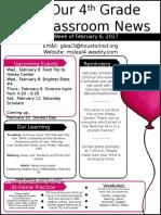 newsletter week 23