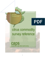 Citrus Commodity survey reference