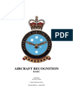 Aircraft Recognition Basic