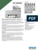WorkForce Pro WF 5690DWF Datasheets