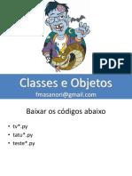 TWP25 Classes e Objetos