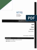 Déclaration de Situation Patrimoniale de François Fillon