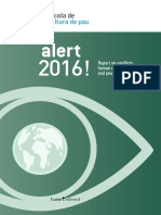 Alert 2016 - Report on conflicts, human rights and peacebuilding