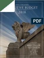 Gov. Fallin FY 2018 Proposed Executive Budget