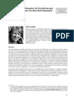 K. SIKKINK - El Efecto Disuasivo de Los Juicios Por Violaciones a Los DD.hh.