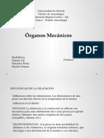 Dibujo Mecanico - Organo Mecanico