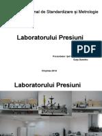Laboratorul presiuni