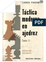 Táctica Moderna en Ajedrez - Tomo II - Ludeck Pachman_archivo