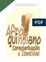 Informe Final Estudio y Caracterizacion de La Poblacion Afrodescendiente en El Departamento Del Quindio (1)