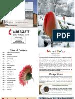 AUMC Aldersgate Alive- Winter Edition 2017
