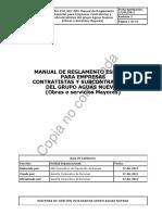 G - Manual Reglamento Especial Contratistas y Subcontratistas