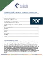 CHF - Tick-borne Disease - 2017