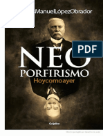 Neoporfirismo AMLO