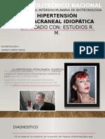 Hipertensión Intracraneal Idiopática