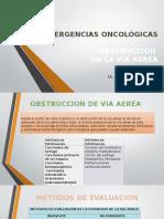 Emergencias Oncológicas