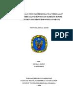 224586664 Optimalisasi Produksi Pemboran Dan Peledakan Pada Pembuatan Terowongan Tambang Bawah Tanah Di Pt Freeport Company