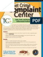 Internet Crime Complaint Center Flyer