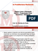 Aula10 - Otimização-Programação Linear Geometrica (1)