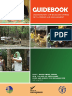 Guidebook on Community-Environment and Natural Resources Enterprises