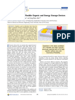 Graphene Films for Flexible Organic and Energy Storage Devices