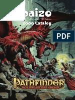 Catálogo - Paizo 2009