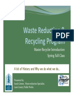 Waste Prevention Programs Sarah Grimm 2016