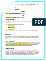 Freelancing Contract Revised Template