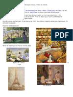 Ficha de Estudo Georges Seurat