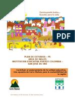 PE Area de Inglés (4-9)