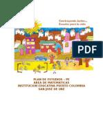 PE Area de Matemáticas (4-9°) 2015