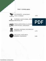 Extraction Lab menu