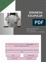 Diskinesia Escapular II