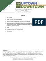 Joint Org February 9, 2017 Agenda Packet