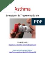 Asthma Symptoms & Treatment Guide