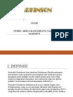 Slide Referat Parkinson Febby S.ked.