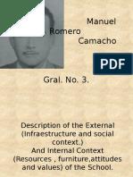 Manuel Romero CamachosSITUATION