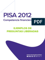 Preguntas Liberadas Financiera PISA2014