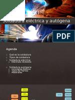 Soldadura Eléctrica y Autógena