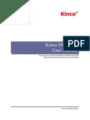 Kinco HMIware User Manual   Microsoft Windows   Button