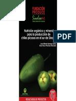 Nutricion Organica y Mineral para la produccion de chiles picosos en el sur de Sinaloa.pdf