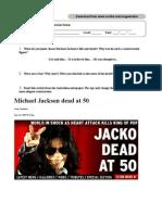 Michael Jackson's death - Advanced