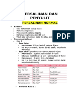 OBSTETRI Proses Persalinan